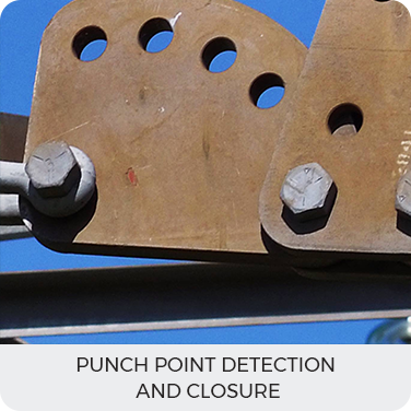 Punch Point Detection and closure